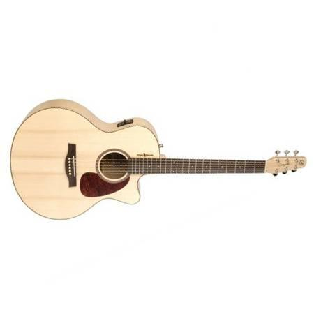 Seagull Natural Elements Heart of Wild Cherry CW Mini Jumbo Guitarra Electroacústica
