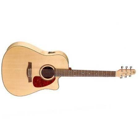 Seagull Performer CW Flame Maple HG QI Guitarra Electroacústica