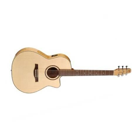 Seagull Performer CW Folk Flame Maple HG QI