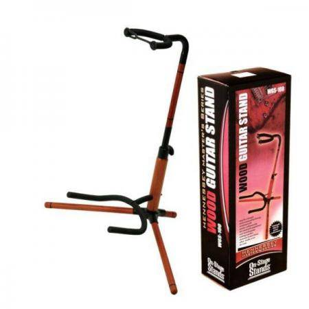 On Stage WGS-100 Wooden Guitar Stand