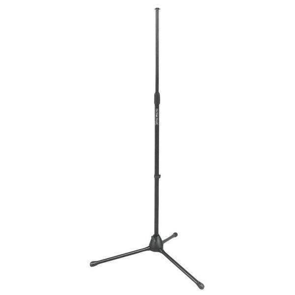 Soporte Micrófono On Stage MS7700B Euro Tripode Negro