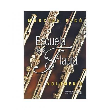 Escuela De Flauta Vol 3 Marcial Picó