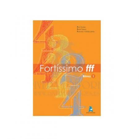 Libro Lenguaje Musical Fortissimo ritmo 1