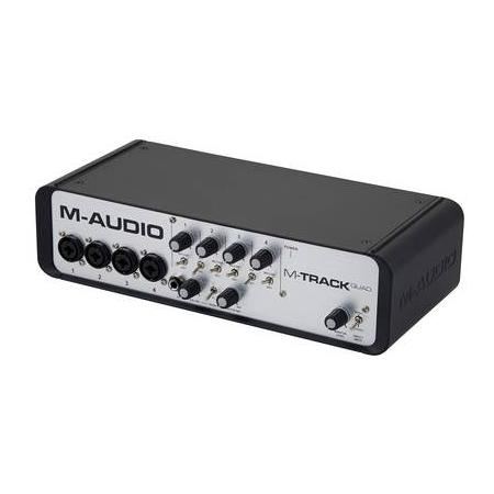 M-AUDIO MTRACK Quad Interface Audio Midi USB 4 Canales