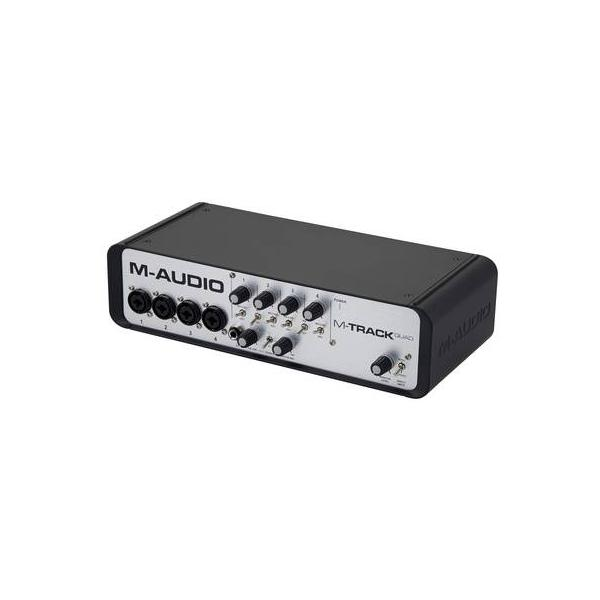 M-AUDIO M-TRACK Quad Interface Audio Midi USB 4 Canales
