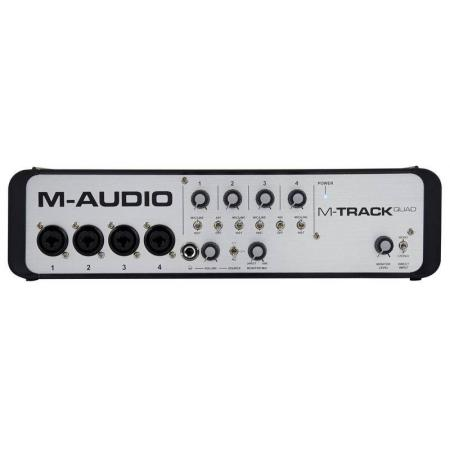 M-Audio M-Track Quad Interfaz audio