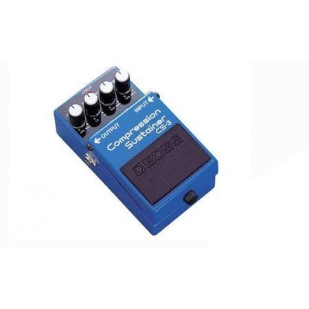 Pedal Compressor Guitarra Boss CS-3