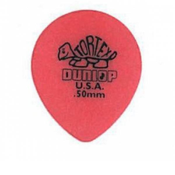 Dunlop Bolsa 72 púas Tortex Tear Drop 0,50mm