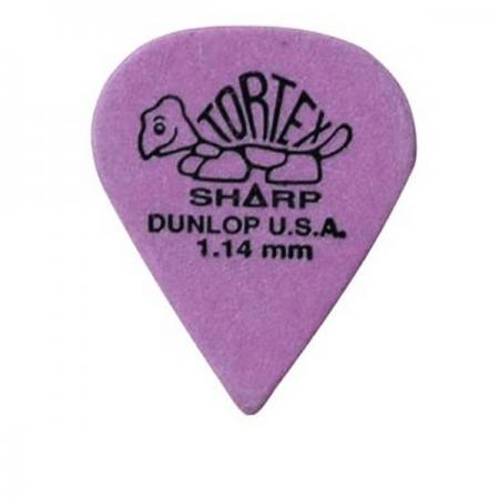 Dunlop Bolsa 72 púas Tortex Sharp 1,14mm