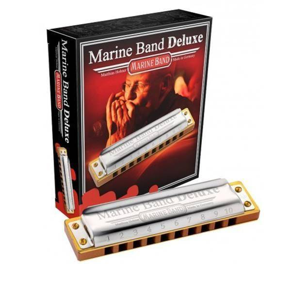 Hohner armonica 2005/20eb Marine Band Deluxe
