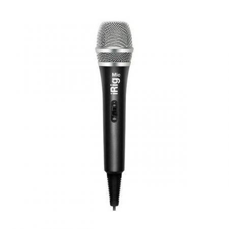 Ik Multimedia Micrófono iRig Voz Iphone IRIGMIC