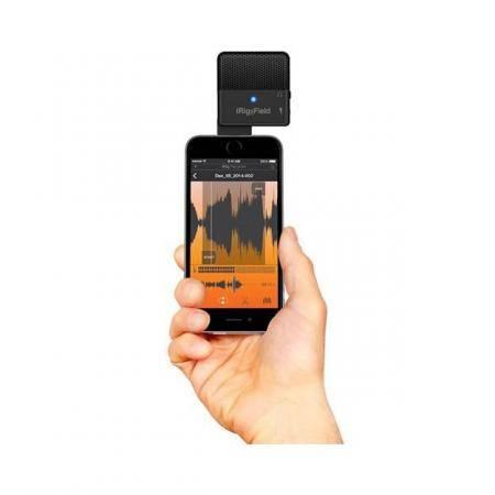 Micrfono estreo para grabar sonido directo con tu iPhone iPad y iPod touch