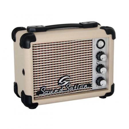 Mini Amplificador Portable Batería 5W MPA 10G Soundsation