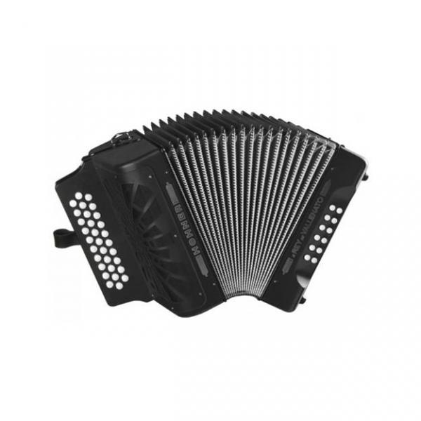 El Rey del Vallenato BbEbAb, black with Gig Bag