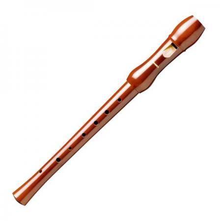 Hohner 9555 Flauta de madera digitación alemana
