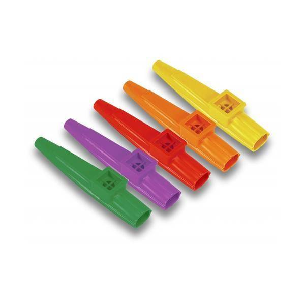 Kazoos de colores Dunlop
