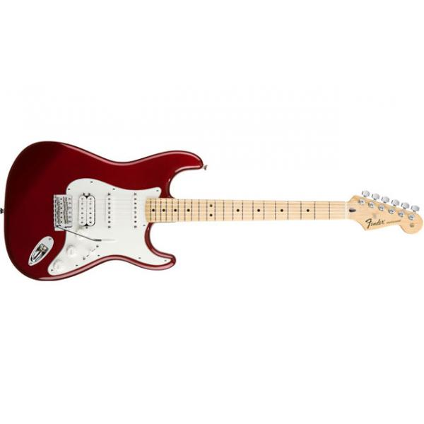 Standard Stratocaster® HSS, Maple Fingerboard, Candy Apple Red
