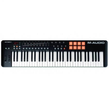 M-AUDIO OXYGEN 61 IV Teclado controlador USB/MIDI 61 teclas 8 botones