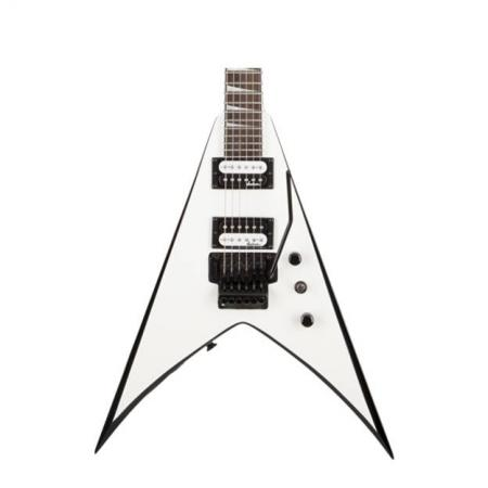 jackson js32 king V White with Black Bevels