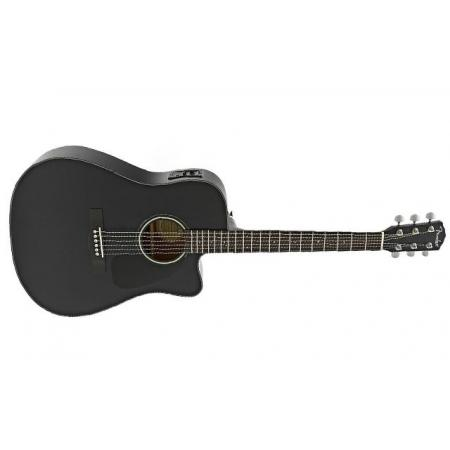 Fender CD140SCE Satin Black Guitarra Electro-acústica