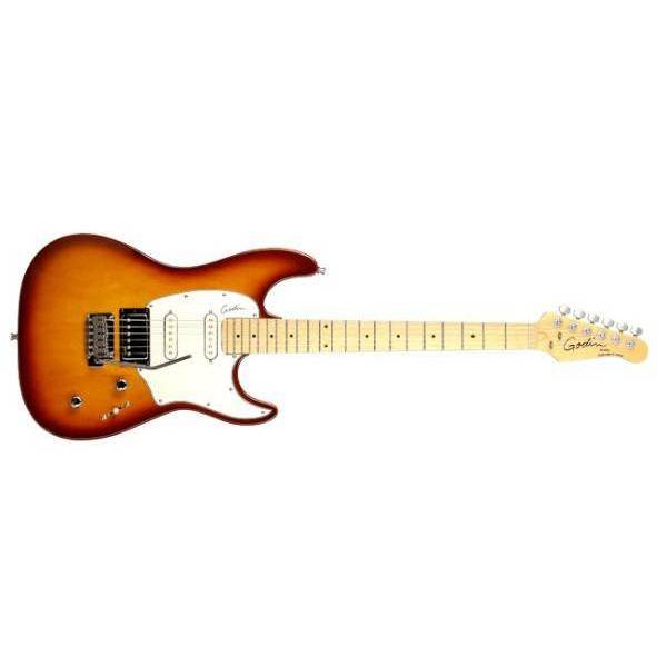 Guitarra Eléctrica Godin Session Lightburst HG MN