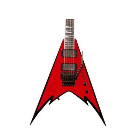 Jackson PDX-2 Demmelition King V™ Red with Black Bevels Guitarra Electrica