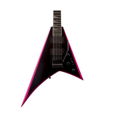 Jackson Rhoads RRXMG Black with Pink Bevels Guitarra Electrica