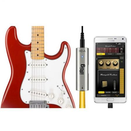 INTERFACE GUITARRA DIGITAL PARA ANDROID