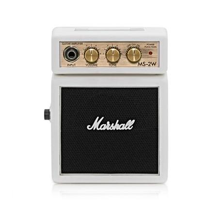 AMPLIFICADOR GUITARRA MARSHALL MINI AMP MS2  BLANC