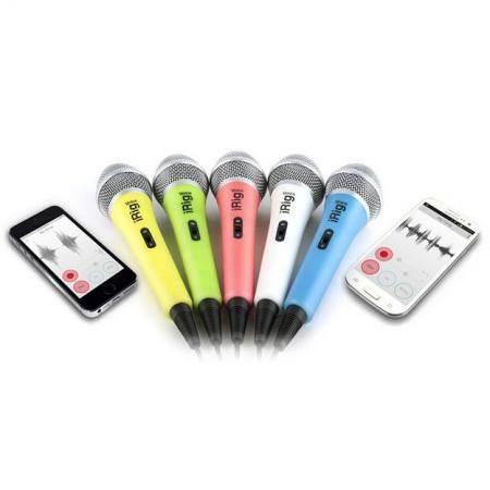 Micrfono Digital de mano para iPhone iPod touch iPad y Mac Blanco