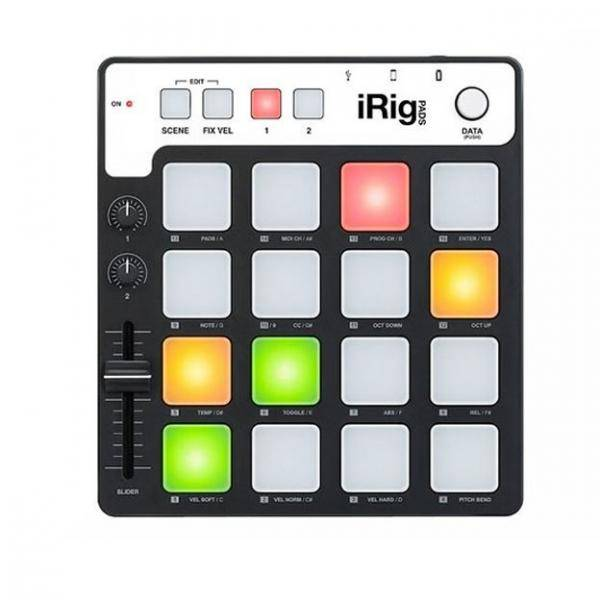 CONTROLADOR MIDI DE RITMOS PARA IPHONE IPOD TOCH IPAD Y MAC PC