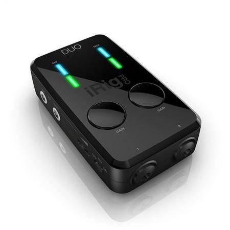 Interface de MIDI y Audio 2x2