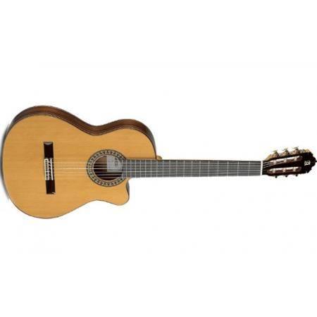 Guitarra Electroclásica Cutaway Alhambra 5P CT-E1