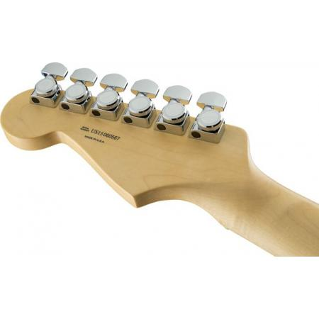 Fender  	American Elite Stratocaster®, Maple Fingerboard, Olympic Pearl