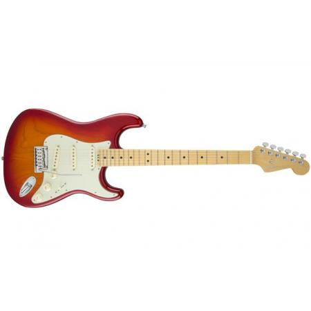 Fender American Elite Stratocaster®, Maple Fingerboard, Aged Cherry Burst (Ash)