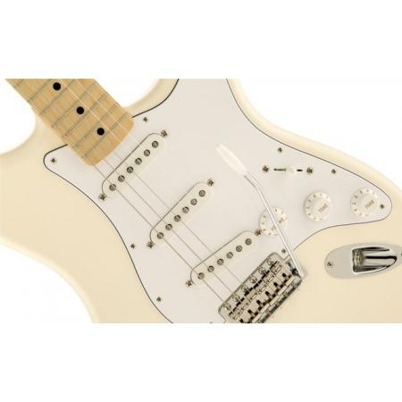 Fender Classic Series '70s Stratocaster, Maple Fingerboard, Olympic Wh