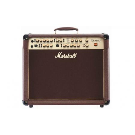 "AMPLIFICADOR GUITARRA MARSHALL COMBO ACUSTICO 100W 2X8"" Stereo"