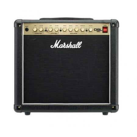 AMPLIFICADOR GUITARRA MARSHALL COMBO DSL SERIES 15W 1X10""