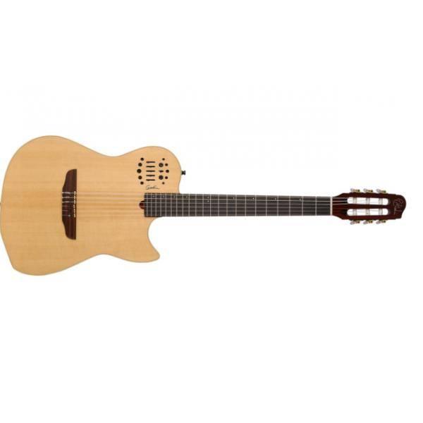 Guitarra Electroclásica Godin MultiAc Nylon SA Natural HG