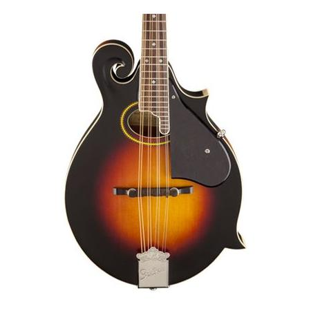 G9350 Park Avenue A.E. F Style Mandolin Solid Spruce Top  Solid Maple Back/Sides Fishman® Pickup 3 Color Sunburst