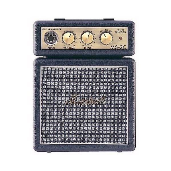 AMPLIFICADOR GUITARRA MARSHALL MINI 2W Clasic a pilas