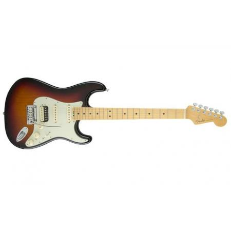 Fender American Elite Stratocaster® HSS Shawbucker, Maple Fingerboard, 3-Color Sunburst