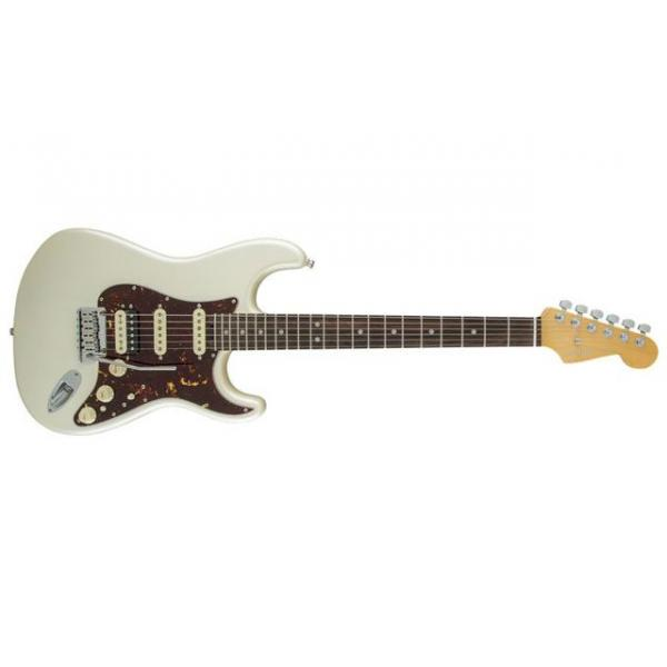 Fender American Elite Stratocaster® HSS Shawbucker, Rosewood Fingerboard, Olympic Pearl