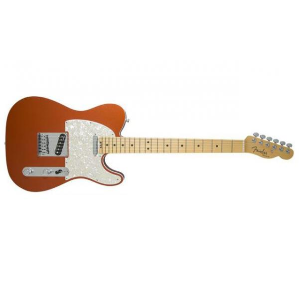 Fender American Elite Telecaster®, Maple Fingerboard, Autumn Blaze Metallic