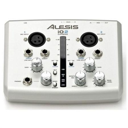 Interface Grabación Usb Alesis IO2 Express