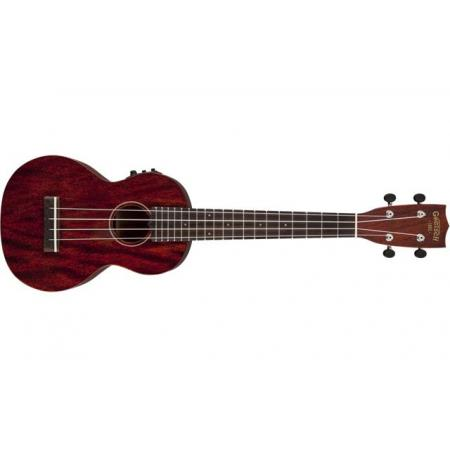 Gretsch G9110-L Concert Long Neck A.E. Ukulele with Gig Bag Fishman® Kula Pickup Vintage Mahogany Stain