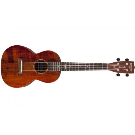 Gretsch G9120-SK Tenor Koa Ukulele, Solid Koa, Open Pore, Semi-Gloss Finish