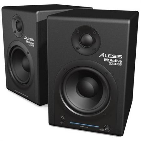 Monitores Estudio Alesis M1 Active 520 USB
