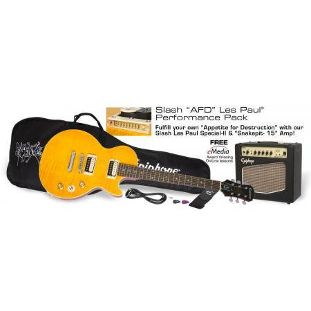 Epiphone Slash pack guitarra eléctrica AFD Les Paul pack guitarra eléctrica