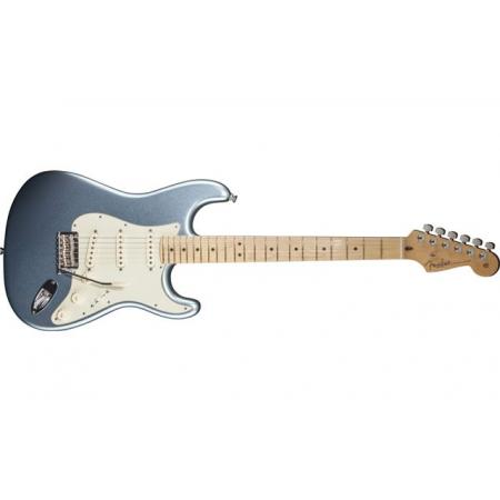 Fender American Deluxe Strat® Plus, Maple Fingerboard, Mystic Ice Blue Guitarra Electrica